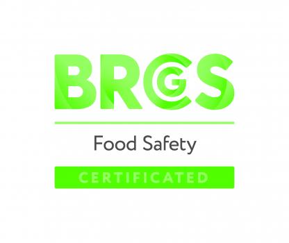 Logo BRC Gluten-free certificate